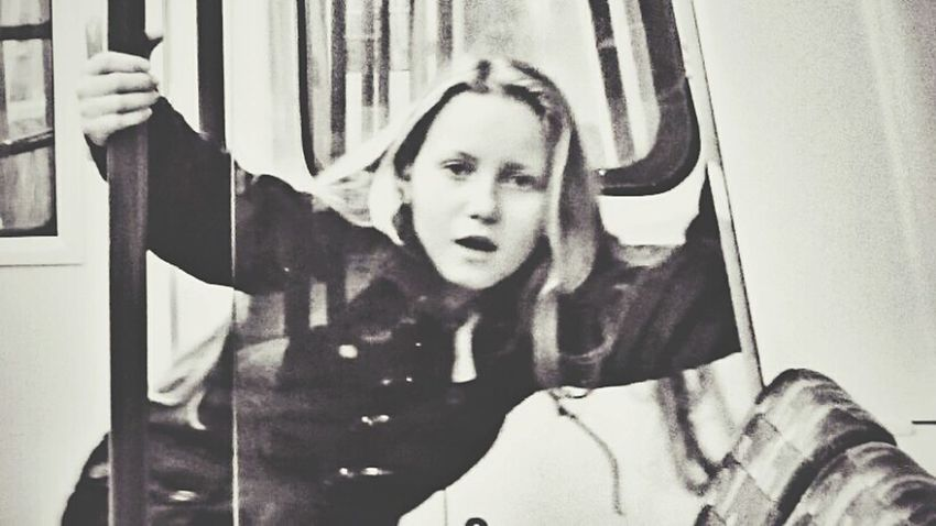 """Pardon??"" Untold Stories Underground Portrait Surprised Train Journey"