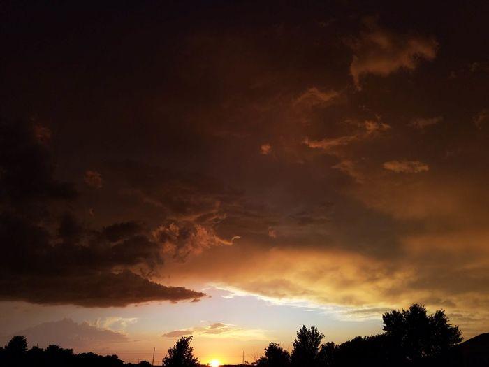 Taking Photos Cold Front Storm Cloud Sunset #sun #clouds #skylovers #sky #nature #beautifulinnature #naturalbeauty #photography #landscape Clouds