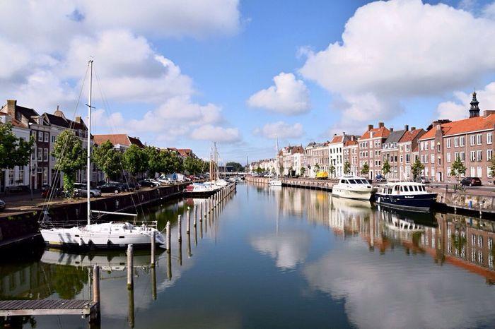 My Beautiful Hometown Middelburg Holland Harbour Harbour View Hanging Out EyeEm Gallery Landscape EyeEm Best Shots Hometown The Great Outdoors - 2016 EyeEm Awards