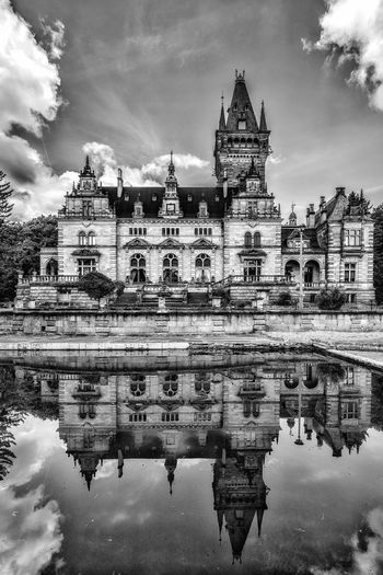 https://youtu.be/F1oHBcTdKL4 Urbex Reflections Black & White Black And White Urban Urbanphotography Urban Exploration Urban Exploring EyeEm Best Shots EyeEmNewHere Eyemphotography EyeEm Gallery EyeEm Selects EyeEmBestPics Lost Lostplaces Château Schloss Schwarzweiß Blackandwhite Black & White Water Reflection Lake Sky Architecture Building Exterior Built Structure Cloud - Sky Reflection Lake