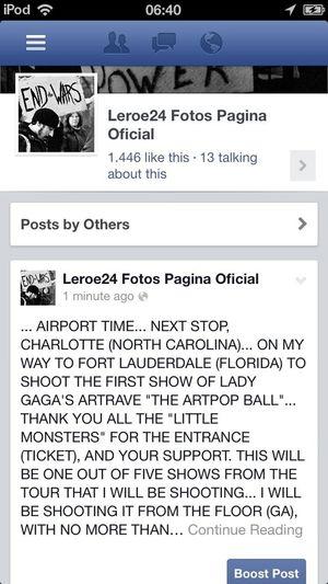 Lady Gaga ARTRAVE THE ARTPOP BALL Leroe24fotos.com Fort Lauderdale