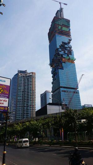 Bangkok Odd Architecture Sky Scrapers 911 rememberance?