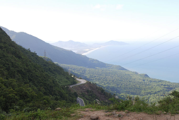 Hai Van Pass, Vietnam Beauty In Nature Day Driving Green Hai Van Hai Van Pass Hairpin Turns Landscape Moped Mountain Mountain Range Mountain Road Nature Nature Non-urban Scene Outdoors Physical Geography Remote Road Scenics Tranquil Scene Tranquility Valley Vietnam Winding Road