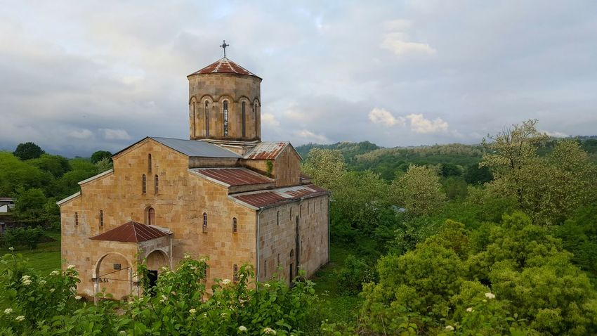 абхазия Abhazia моква храм собор горизонт Chirch Alwaysgo Neverstopexploring  Letsgosomewhere Welltravelled Sky Architecture