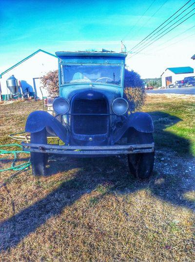 Ford Truck Vintage Cars Antique Car Roadtrip