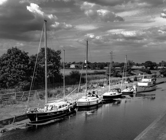 Nautical Vessel Transportation Water Mode Of Transportation Sailboat Sky Moored
