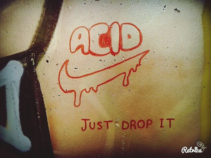 Graffiti Acid Nike✔ Just Drop It