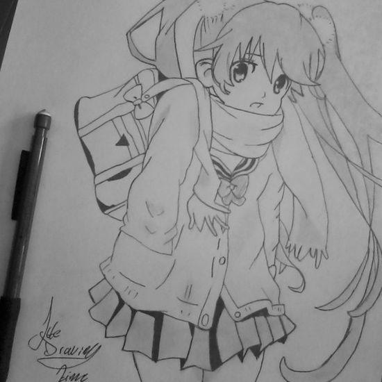 Drawanime Drawing Anime Animecute animegirl