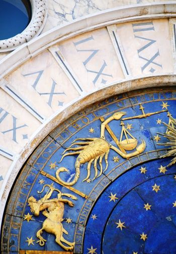 Zodiacs In Venice Astrology Sign Astrological Clock Venice, Italy ZodiacSign Zodiac Signs Zodiac Photography Zodiac Sign Zodiac Clock Zodiac Clock Time No People Blue Clock Face Astrology Sign Architecture Astrology Travel Destinations