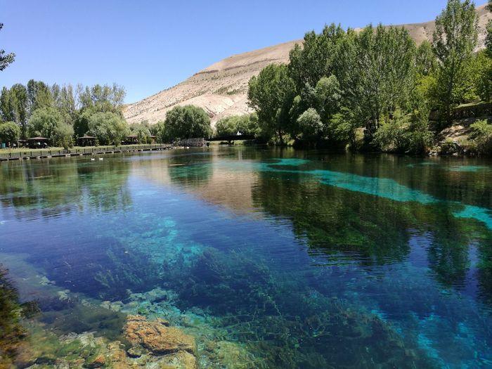 Lake Gökpınar Reflection Beauty In Nature Blue Water Outdoors