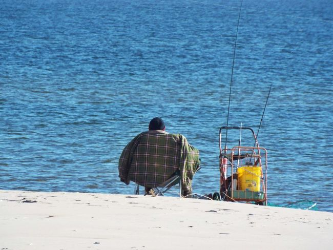 March Showcase Fishing Sparkling Water Lake Michigan Fishing Time Lakefishing Check This Out Sunshine Sand Beach Fishing Q By Audi Q quality... of life