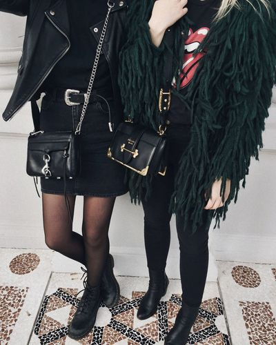 Two People Fashion People Adults Only Standing Human Body Part Blogger Ootd Outfit Rock N Roll EyeEmNewHere