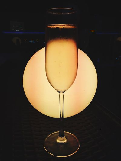 Champagne Champagne Glasses Champagne Lover Light