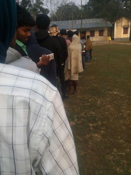 vote polling Line in tripura My First Uploading Photo 18-02-2018: 6:17 @ M Debabrata Deb D2 Capture Focused Ordinary Tripura Vote Indian Vote Vote Poll Center Ambassa Vote Poll Center