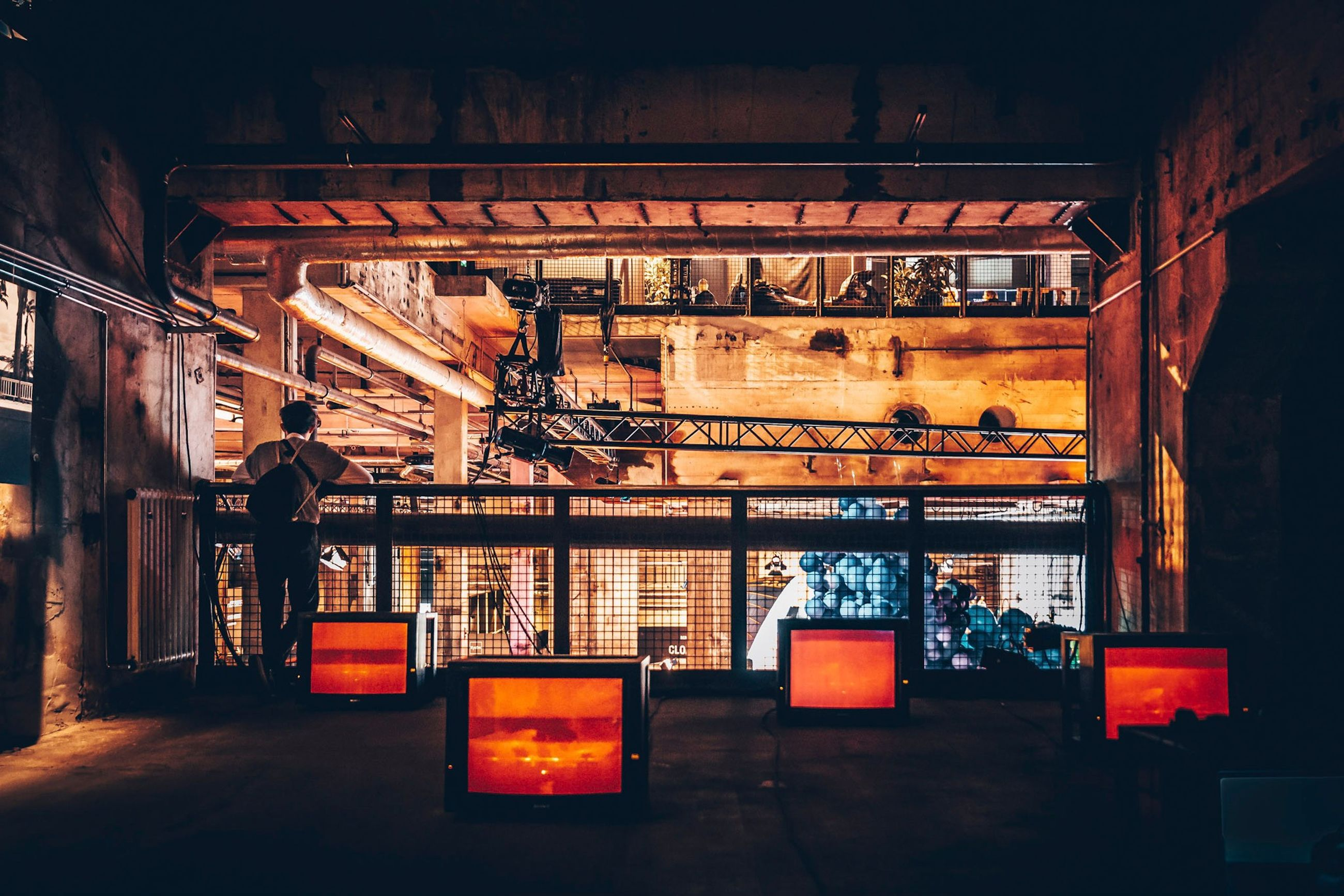 indoors, illuminated, architecture, built structure, no people, orange color, glowing, night, lighting equipment, heat - temperature, blurred motion, wood - material, store, industry, transportation, business, light - natural phenomenon, nature, ceiling