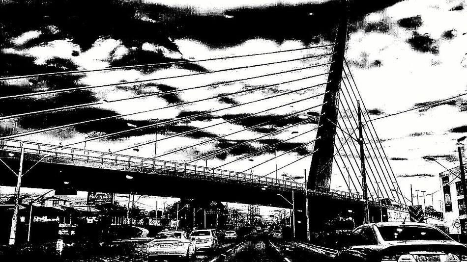Urban Photography Sky And Clouds Passed Blackandwhite B&w Curitiba, Brazil