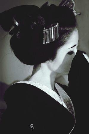 Geisha Japanese  Traditional Shooting