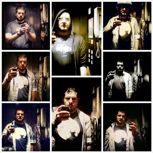 The elevator Portrait Selfportrait Elevator Portraits In The Elevator