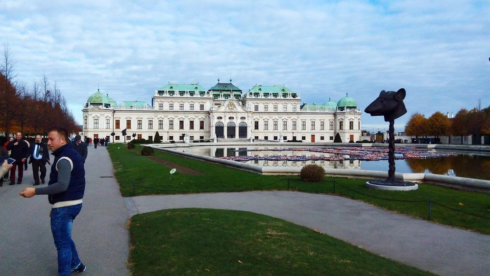 Belvedere palace Vienna City Architecture Travel Destinations