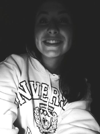 Late Night Studying Studying For Exams Latenightselfie Blackandwhite That's Me Keep Calm And Always Smile Hoodie Aftermidnight Studentlife