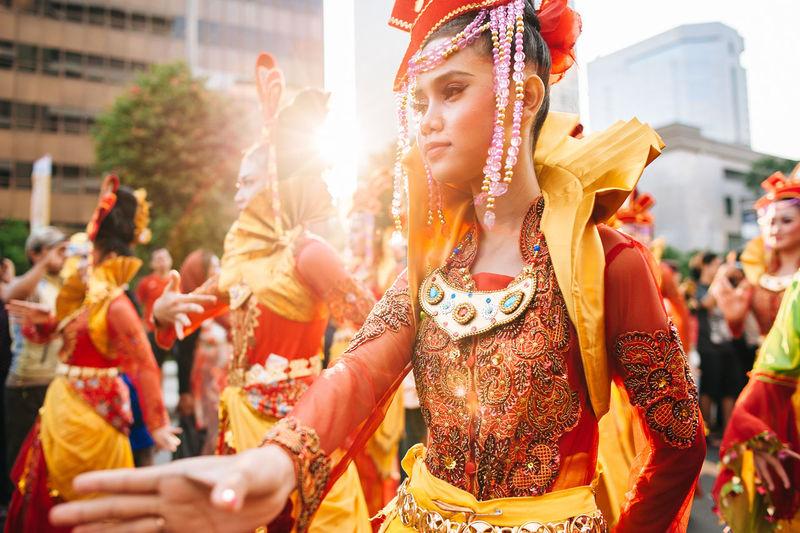 Street Photography Jakarta Carnaval 2015 - Jakarta, Indonesia