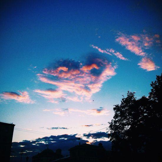 Cloudy Heart Taking Photos VSCO Piter  Spb Vscocam Vscorussia Clouds Sky Aabaturoff