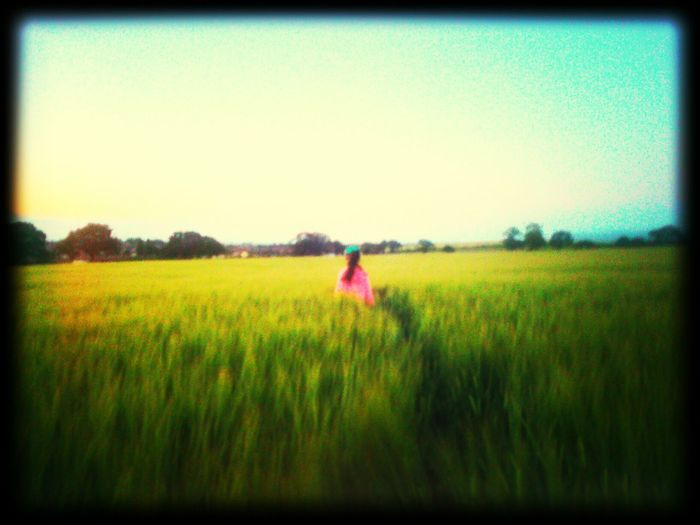 Evening Stroll Summer Evening Walking The Dog Mydaughter