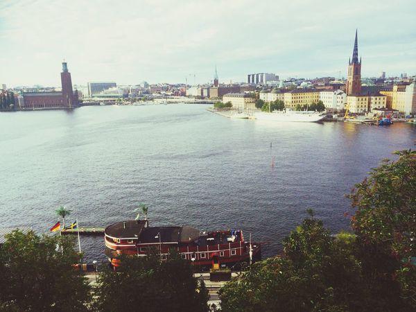 Stockholm, Sweden Sverige The Boot At Work