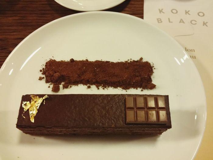 Chocolate Alchemy Gâteau
