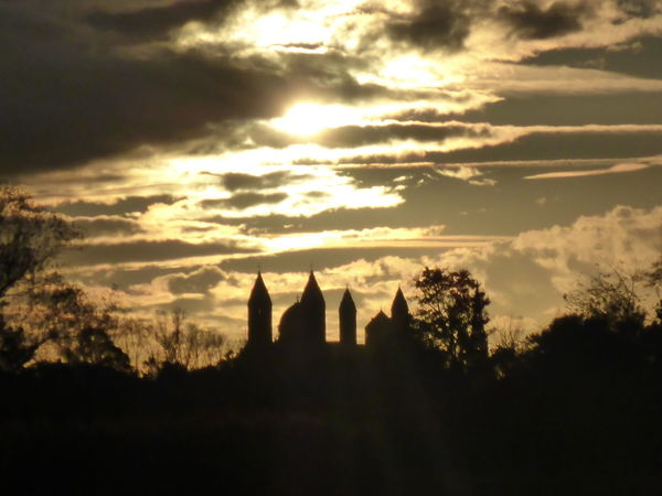 Cathedral Cloud - Sky Scenics Silhouette Sky Sunlight Sunset Travel Destinations