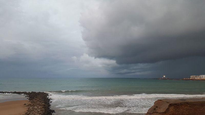 Beach Sea Storm Cloud - Sky Storm Cloud Weather Thunderstorm