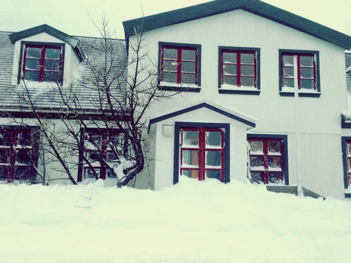 Hanging Out Taking Photos Wonderfuld Greenland Snow Covered The Real Greenland House