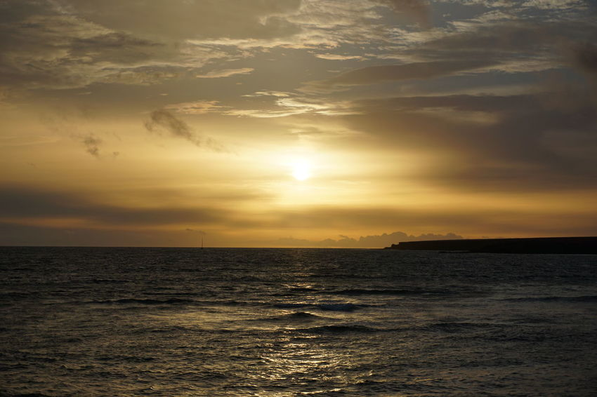 Sunlight Sunset_collection Tenerife España Beauty In Nature Horizon Over Water Idyllic Nature No People Ocean Outdoors Scenics Sea Silhouette Sky Sun Sunlight Sunrise Sunset Tenerife Tenerife Island Teneriffa Tranquil Scene Tranquility Water Waves