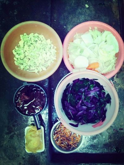 Family Vegetables 初三 Cooking