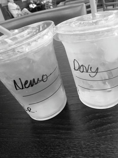 🐠🐠 Starbucks Coffee Starbucks Drink Cute Friendship Finding Nemo Finding Dory
