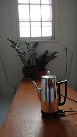 Morning coffee Indoors  Window Table Home Interior No People Day Coffee Coffee At Home Plant Percolator Percolatecoffee