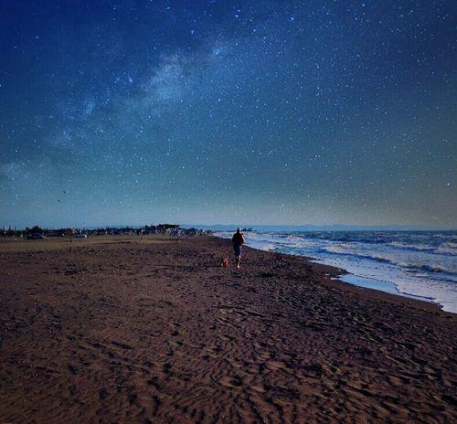 🌌🌌🌌🌙 Landscape Naturelovers Nature Sky Magicsky Sea Goodnight