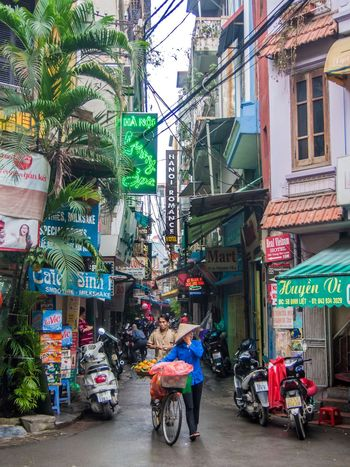 Vietnam, 2017. City City Street Outdoors City Life Street Day Multi Colored Travel Destinations Hanoi Vietnam  Vietnamphotography Vietnam Woman