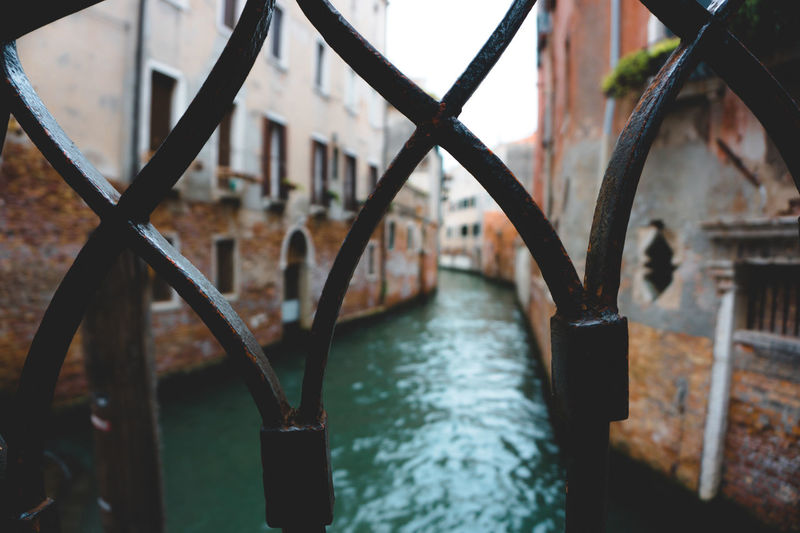 Architecture Bridge - Man Made Structure Connection Day Gondola - Traditional Boat Italy Metal No People Outdoors Travel Destinations Travel Photography Venezia Water Neighborhood Map The Great Outdoors - 2017 EyeEm Awards