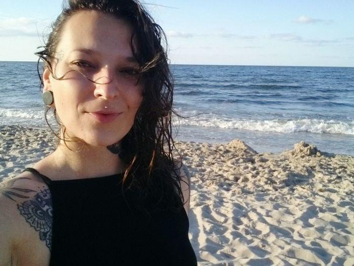 Beach babe. Holidays Baltic Sea Ostsee Beach Beach Babe Fun Girl Waves Naturelovers Nature