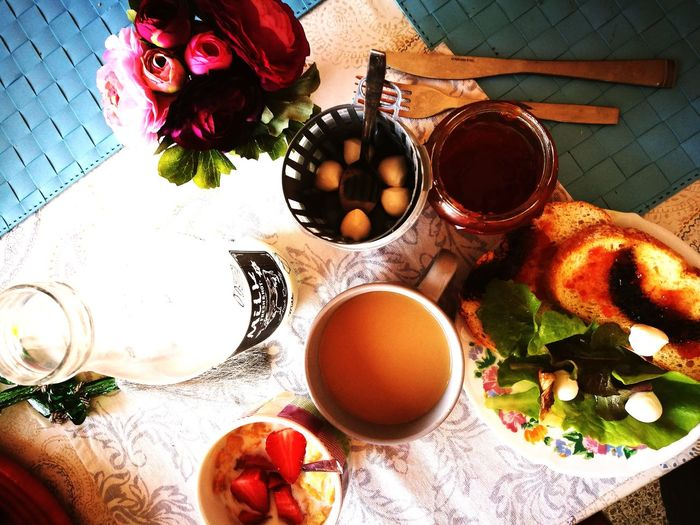 Table Indoors  Freshness Food And Drink Healthy Eating Food Day Close-up Ready-to-eat Break Time Breakfast ♥