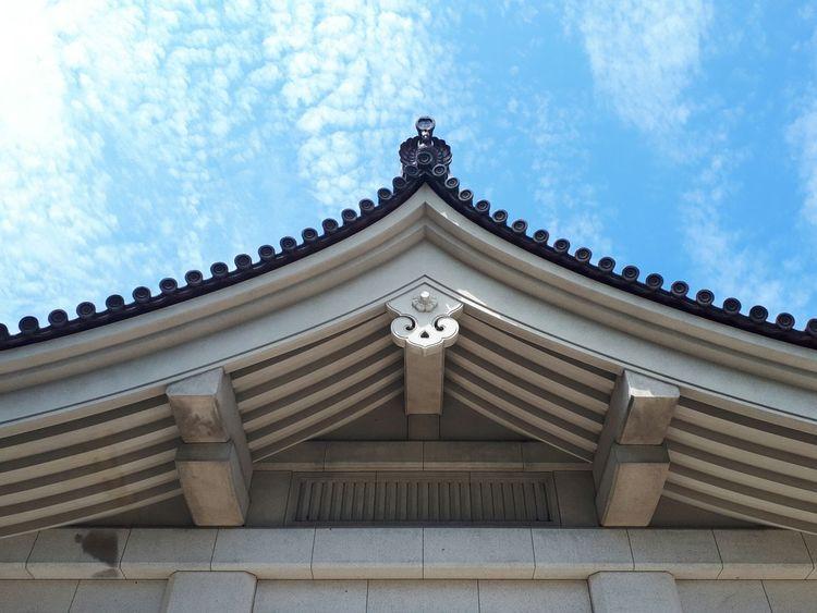 Tokyo Museum Architecture Low Angle View Built Structure Travel Destinations Cloud - Sky Sky Building Exterior Day
