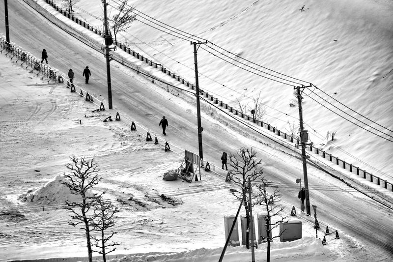 Capture The Moment Walking People Silhouette Snow Winter Street Photography Uzu St. Landscapes Aerial Shot Nature Power Line  Light And Shadow Tranquil Scene Fine Art Still Life Abstract Adapted To The City Urban Exploration Black And White Full Frame Detail Sigma EyeEm Best Shots 17_01 Flying High The Street Photographer - 2017 EyeEm Awards