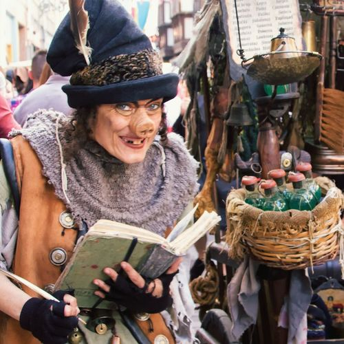 Witch selling elisir Medieval FairStreet Theatre Street Art Artist Street Photography Witch Urban Photography Witchcraft  Close Up The Portraitist - 2016 EyeEm Awards The Street Photographer - 2016 EyeEm Awards Girl Power Snap A Stranger
