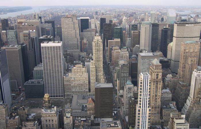 Empire State Building New York New York City Skyline