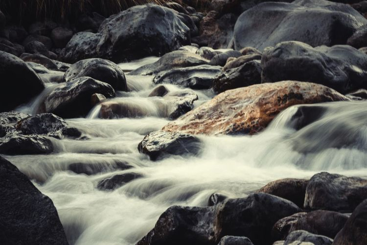Slow EyeEm Nature Lover EyeEmNewHere Water River Rocks And Water Rocks Waterfall Water River Motion Long Exposure No People Landscape Nature Freshness Outdoors Day Flowing Water Beauty In Nature Rock - Object Scenics Rapid Blurred Motion