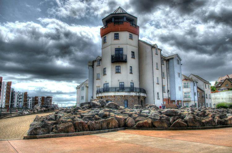 EyeEm Best Shots Bristol, England Clouds And Sky Buildings First Eyeem Photo Nikon D7000 England🇬🇧 HDR Portishead Marina
