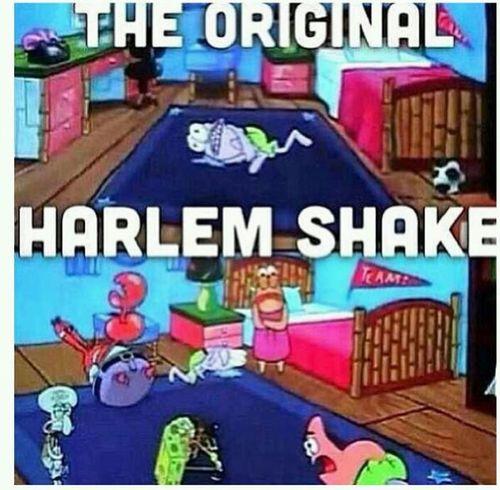 Spongebob Cartoon Original Harlem Shake