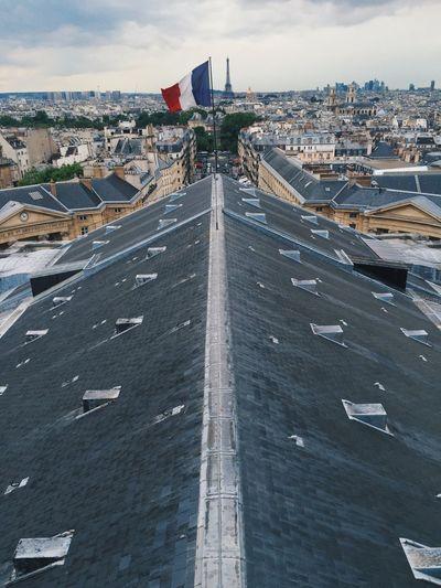 Exploring paris rooftops, paris skyline