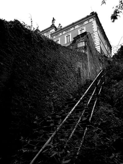 Bnw_captures Building Exterior Outdoors Day No People Sky Architecture Garden Stairs Nature EyeEmNewHere Fotointoscana Villa Garzoni